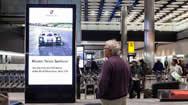 伦敦希思罗国际机场T2+T3+T4+T5国际到达高清LCD屏