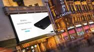 英国伦敦地标电子屏之:莱斯特广场LED户外广告