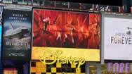 美国纽约时期广场Disney Store广告屏幕