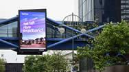 伯明翰博德街电子广告显示屏