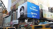 纽约时代广场42街4000平方英尺转角屏