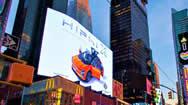 纽约时代广场Digital Beast电子大屏幕