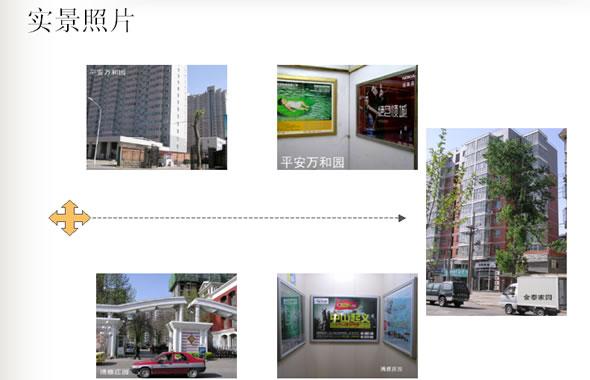 石家庄高档社区电梯户外媒体广告
